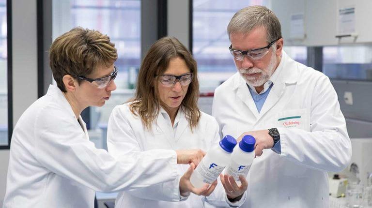 Scientists in Marburg, Germany