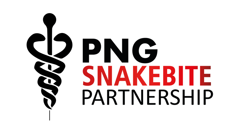 Logo for the Papua New Ginea Snakebite Partnership
