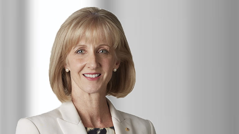 Portrait photo of Carolyn Hewson AO