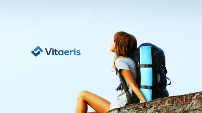 Image from Vitaeris home page about the strategic partnership